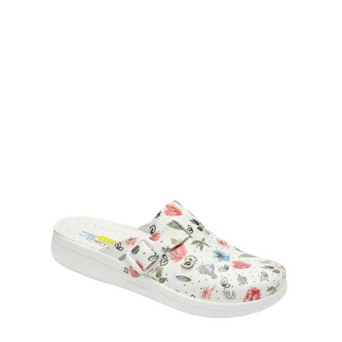 Saboti 15 alb + verde