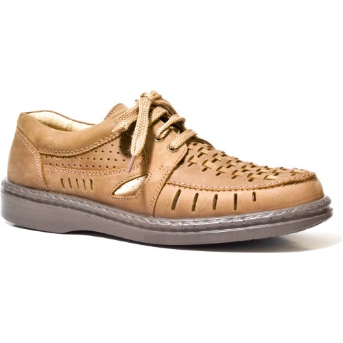 Pantofi barbati TIGINA 504570 maro inchis