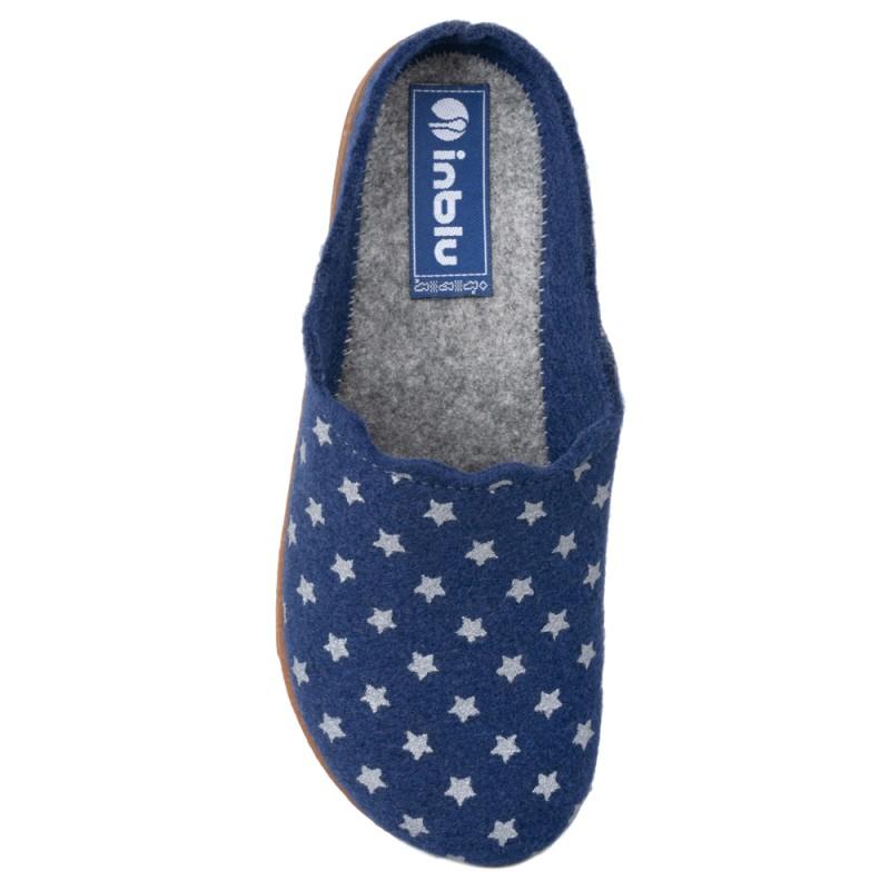 Papuci de casa femei INBLU AD20004BLU