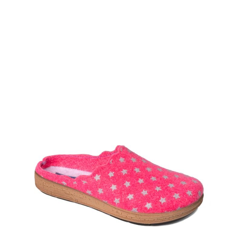 Papuci de casa femei INBLU AD20005FUXIA