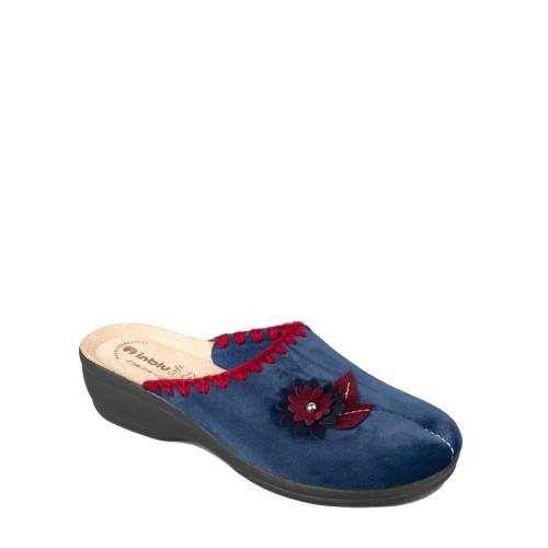 Papuci de casa femei INBLU BJ110004BLU