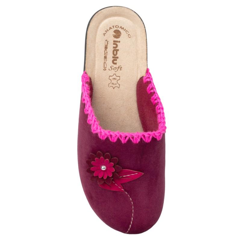 Papuci de casa femei INBLU BJ110066PRUGNA
