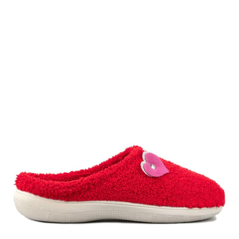 Papuci de casa femei INBLU BS42023ROSO
