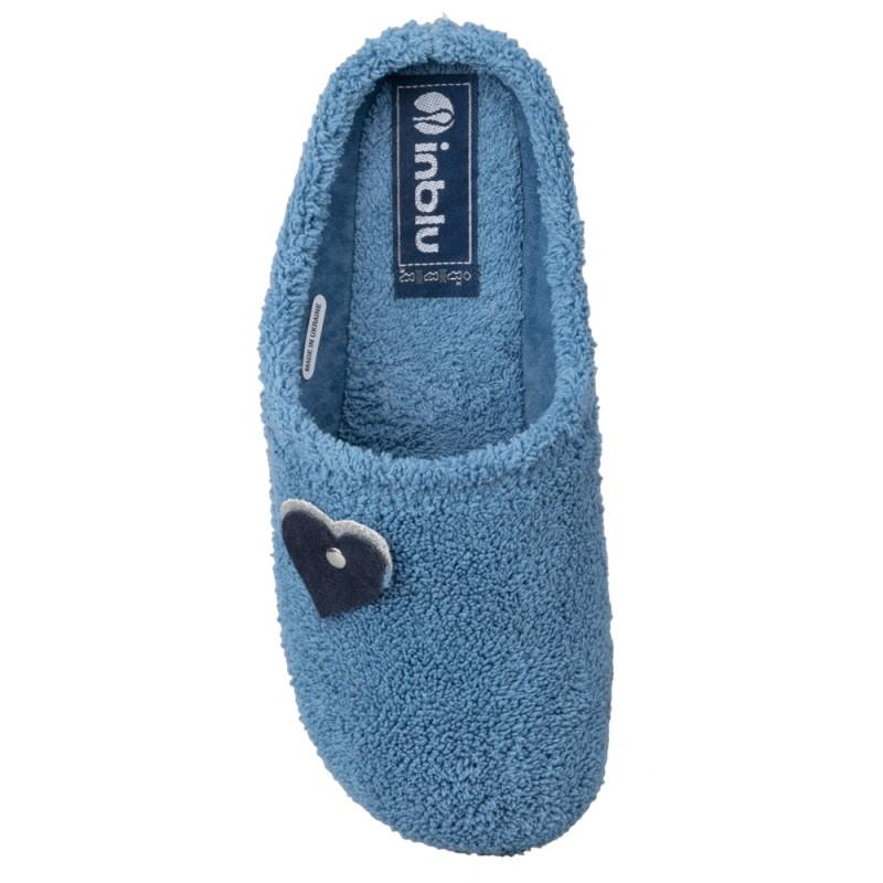 Papuci de casa femei INBLU BS42028JEANS