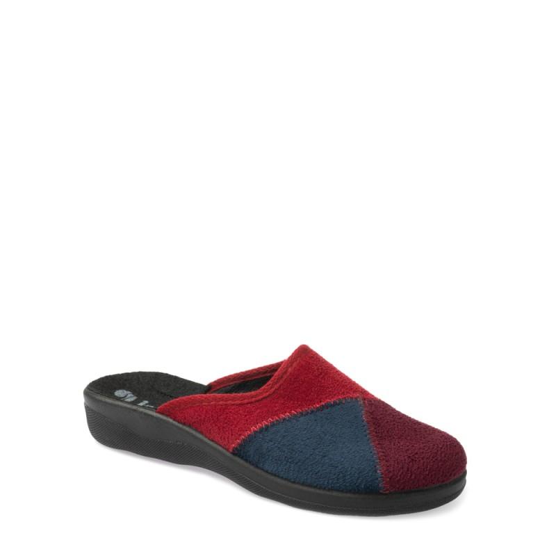 Papuci de casa femei INBLU CA102066PRUGNA