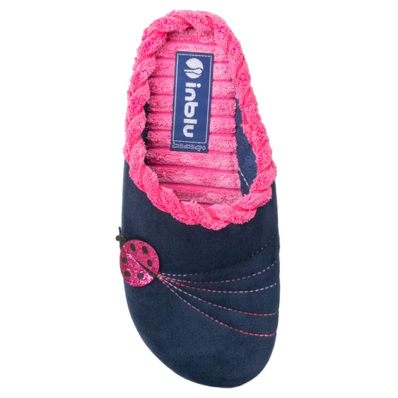 Papuci de casa femei INBLU EC43004BLU