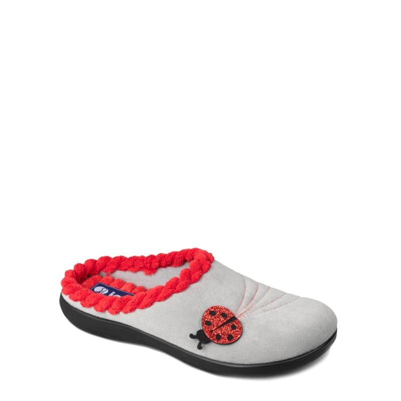 Papuci de casa femei INBLU EC43025GRIGIO