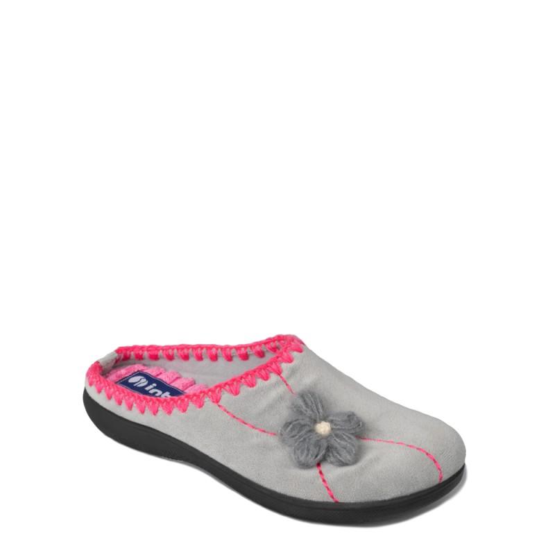 Papuci de casa femei INBLU EC46025GRIGIO