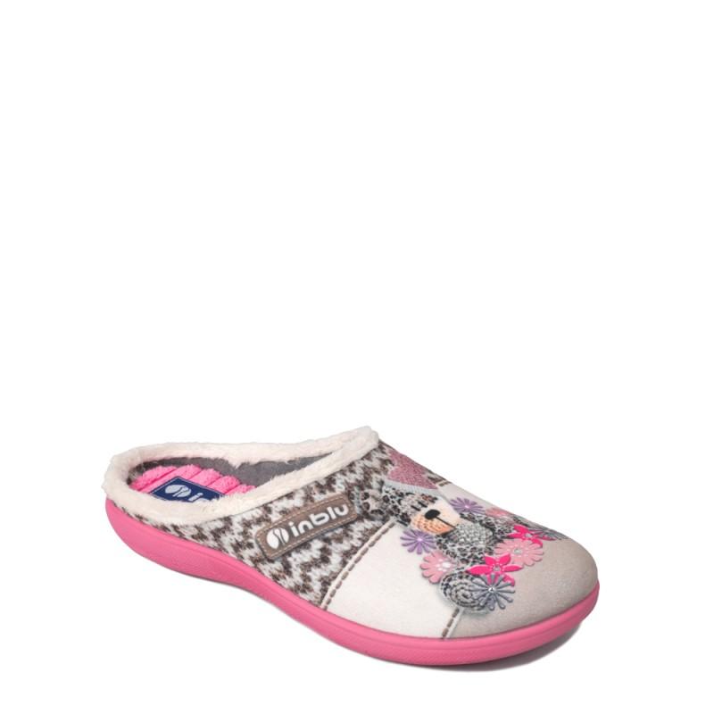 Papuci de casa femei INBLU EC49026SABIA