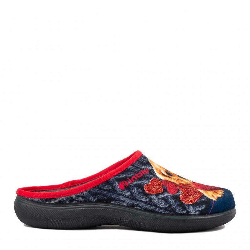 Papuci de casa femei INBLU EC50004BLU