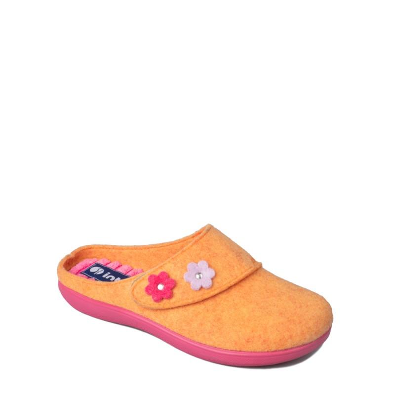 Papuci de casa femei INBLU EC55013ARANCIO
