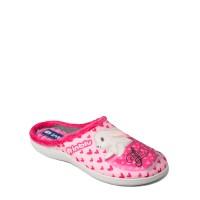 Papuci de casa femei INBLU EC60023ROSO