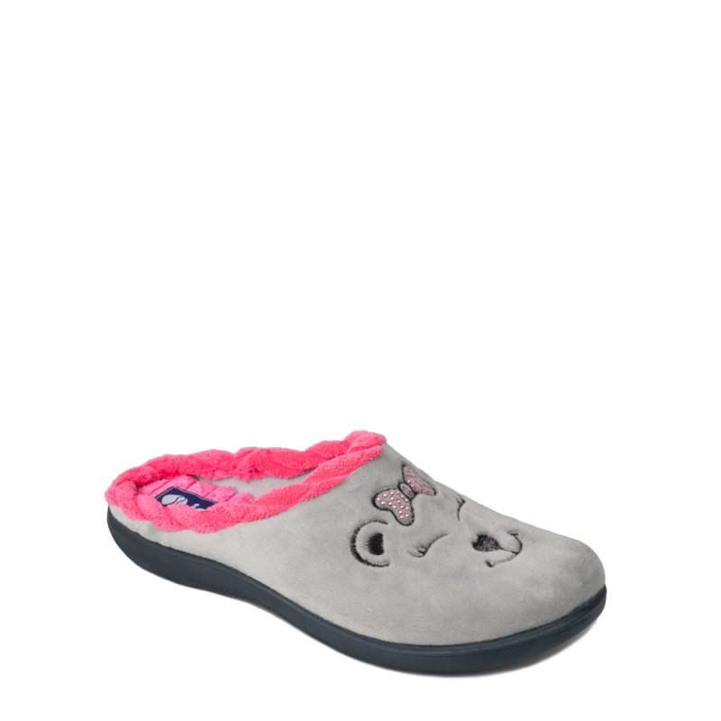 Papuci de casa femei INBLU EC64025GRIGIO