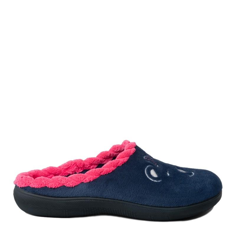 Papuci de casa femei INBLU EC64004BLU