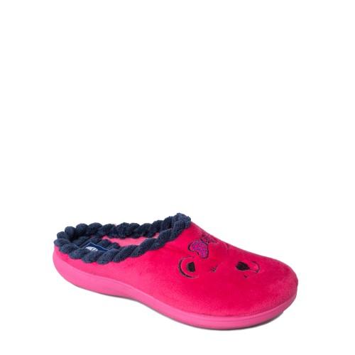 Papuci de casa femei INBLU EC64005FUXIA