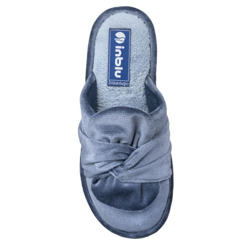 Papuci de casa femei INBLU LB85004BLU