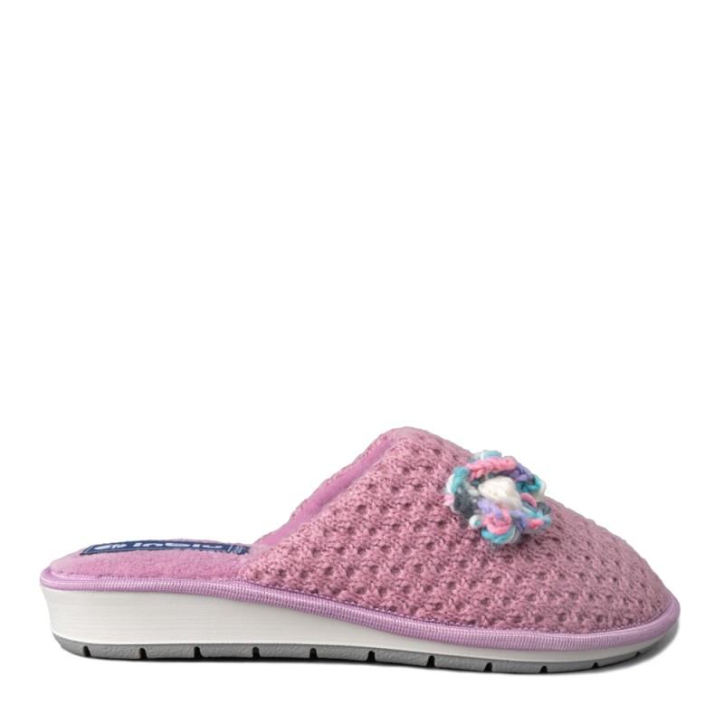 Papuci de casa femei INBLU LB87029GLICINE