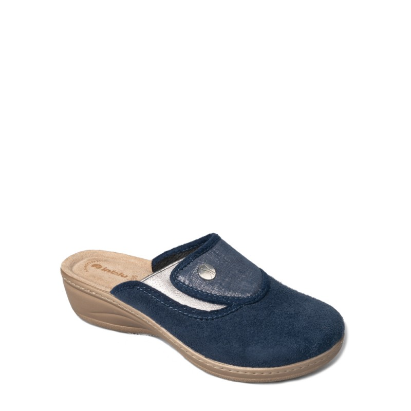 Papuci de casa femei INBLU LY52004BLU