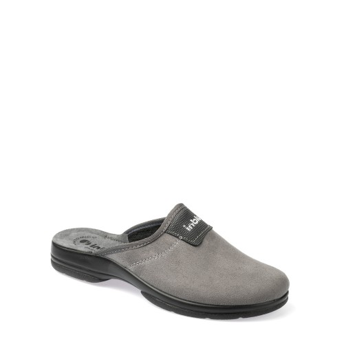 Papuci de casa barbati INBLU PO65025GRIGIO