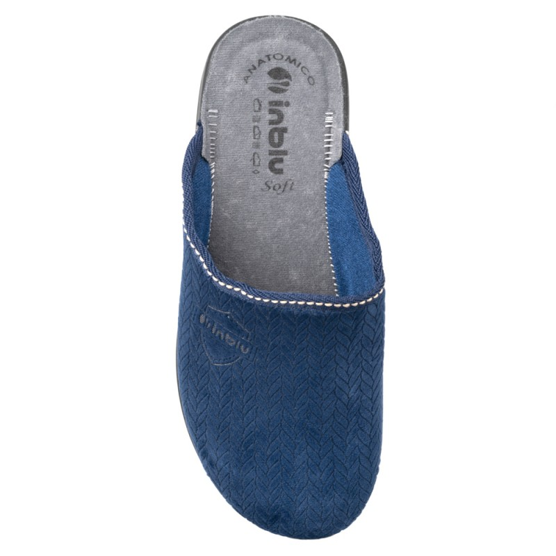 Papuci de casa barbati INBLU PO68_004BLU