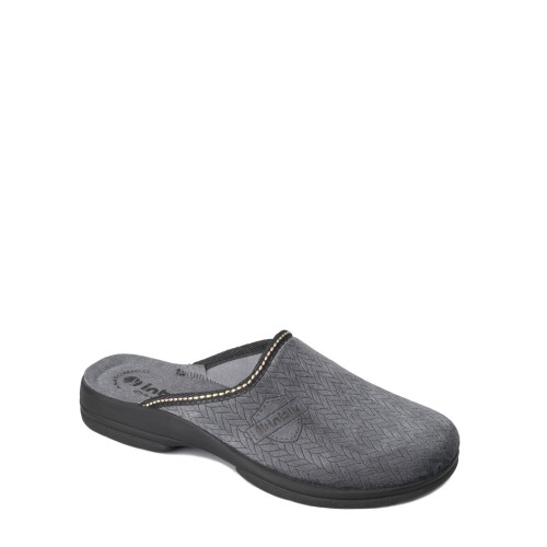 Papuci de casa barbati INBLU PO68_097ANTRACIT