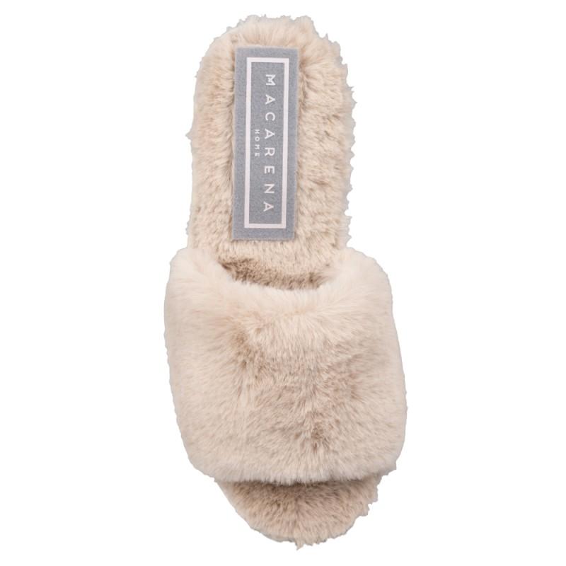 Papuci de casa femei MACARENA ISASA7BEIGE